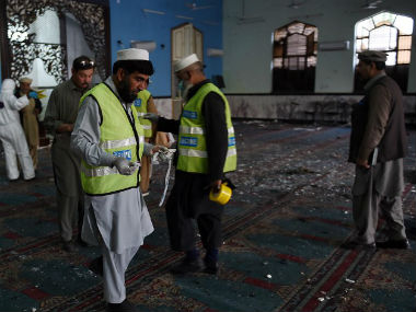 The mosque which was attack. AFP