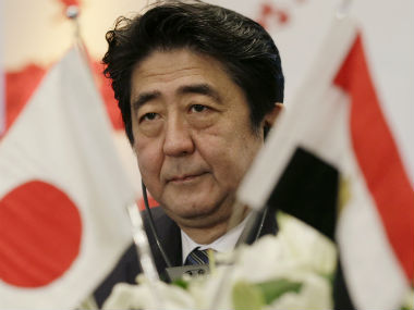 File image of Japanese Prime Minister Shinzo Abe. AP