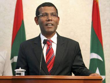 Maldivian President Mohammed Nasheed's arrest puts India in an uncomfortable position yet again. PTI