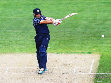 Kyle Coetzer on his way to 156 against Bangladesh. Getty