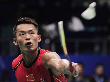 China's Lin Dan. Reuters
