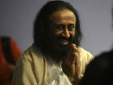 Sri Sri Ravi Shankar got threats from IS. AFP