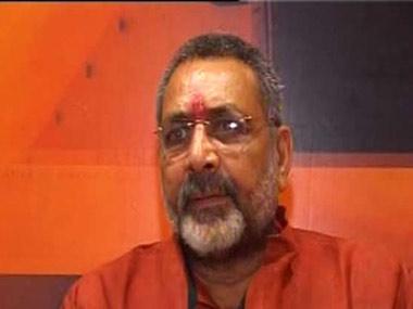 Giriraj Singh. News18.