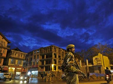 A Union minister said the Centre will counter terrorism in Kashmir with tourism. AFP