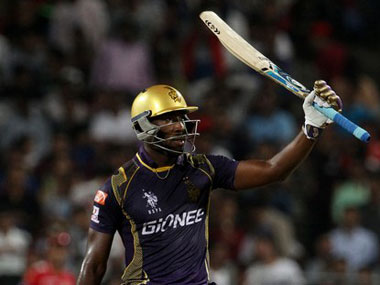 Andre Russell said it would be a good idea to have a speed-gun on his bat. BCCI