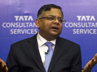 N Chandrasekaran, Chairman, Tata Sons