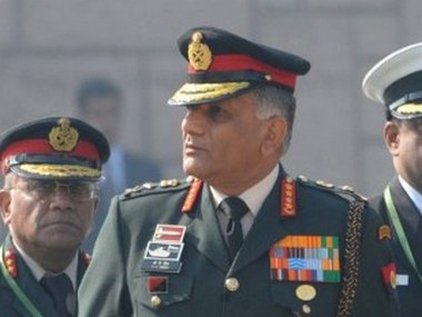 Former Army Chief General VK Singh. AFP/File image