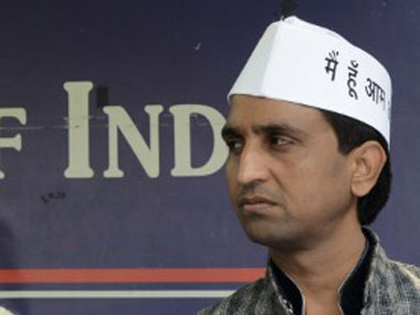 A Twitter over AAP and the media began after the controversy over Kumar Vishwas intensified. AFP