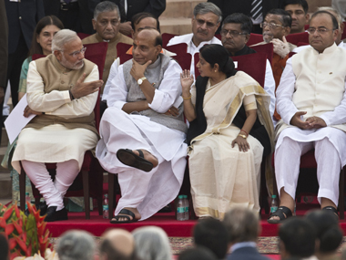 The Narendra Modi cabinet. AFP