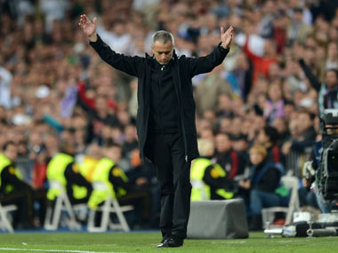 File picture of Jose Mourinho. Getty