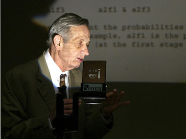 john nash non cooperative games thesis Non-cooperative games uncoupleddynamics john f nash, jr, submitted his phd dissertation entitled non-cooperative games to prince-ton university in 1950.