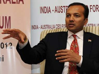 FIle image of Congress leader and industrialist Naveen Jindal. AFP