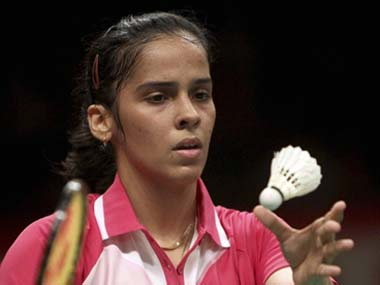 File picture of Saina Nehwal. PTI