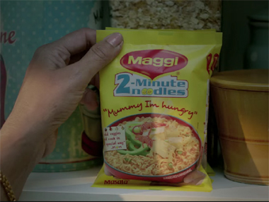 Maggi. A screengrab from YouTube