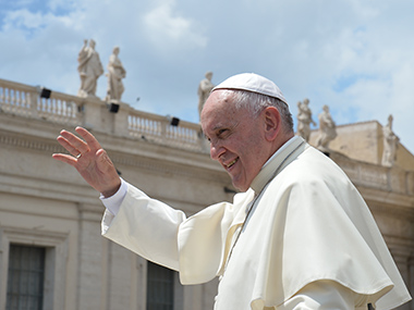 Pope Francis. AFP