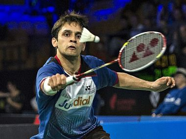 File picture of Parupalli Kashyap. AFP