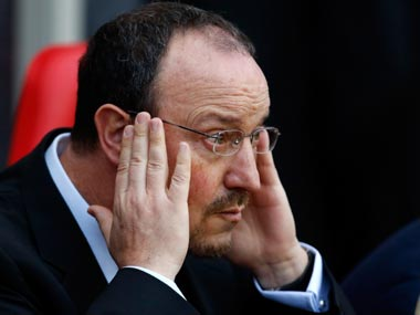 File picture of Rafa Benitez. Getty