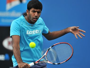 File picture of Rohan Bopanna. AFP