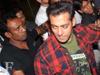 A key witness in the case against Salman Khan failed to appear in court.