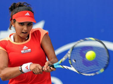 File picture of Sania Mirza. AFP