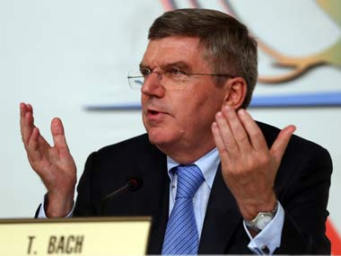 File picture of Thomas Bach. Getty