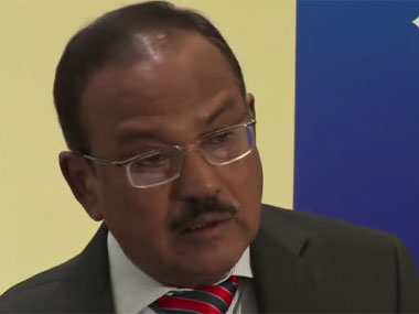 National Security Advisor Ajit Doval.  Youtube screen shot