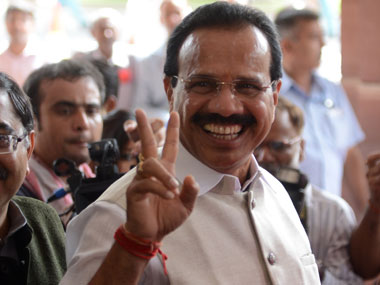 File image of Sadananda Gowda. AFP