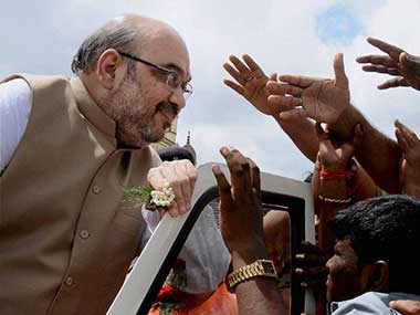 A file image of Amit Shan. PTI image