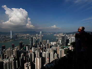 Hong Kong skyline. Reuters