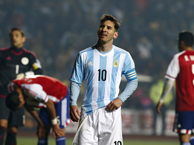 File picture of Lionel Messi. Reuters