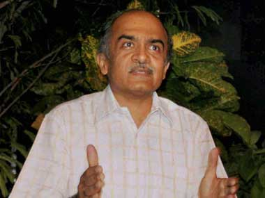 Prashant Bhushan told SC a separate body needs to be created for whistleblowers. PTI