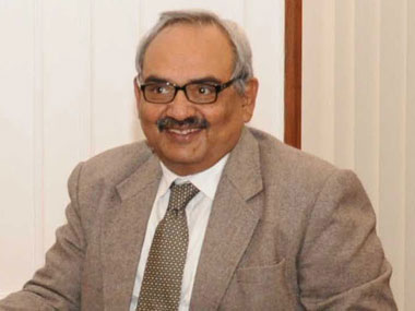 Union home secretary, Rajiv Mehrishi. Image courtesy PIB