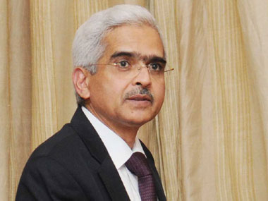 Economic Affairs Secretary Shaktikanta Das. Image courtesy PIB
