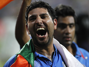 File picture of Yuvraj Singh. Reuters