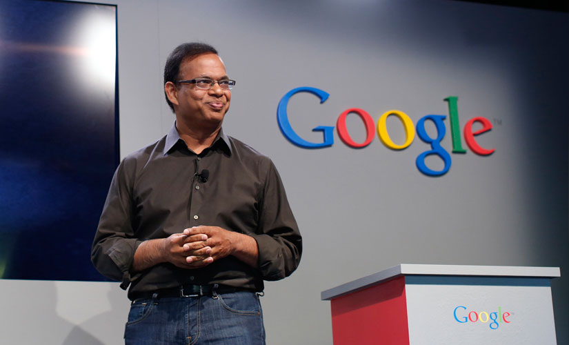 Amit Singhal, Senior VP Google.