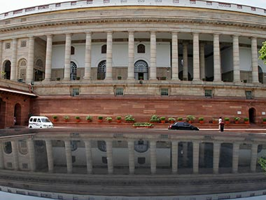 File photo of Indian Parliament. Reuters