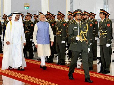 India, UAE condemned terrorism during Modi's visit. PTI