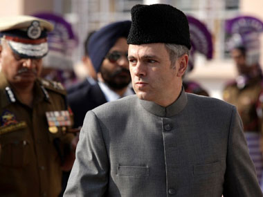 Omar Abdullah in a file photo. AFP