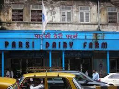 The Parsi Dairy Farm building. Image Credit: Twitter @rommelferns77
