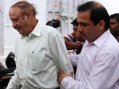 Uphaar Cinema owner Sushil Ansal (left). AFP