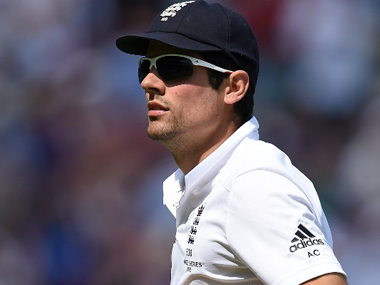 File photo of Alastair Cook. AFP