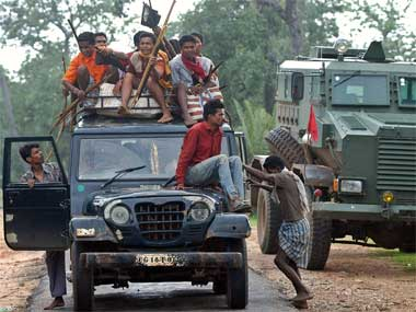 Activists say the Salwa Judum movement is on the rise in Bastar. AP