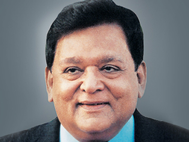 L&T group chairman AM Naik.