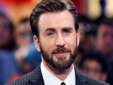 Chris Evans Image via Reuters