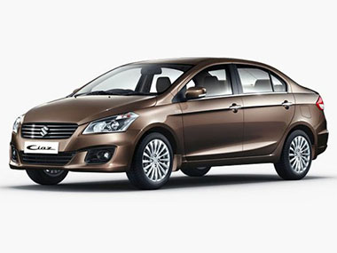 Maruti Ciaz. Image from MSI