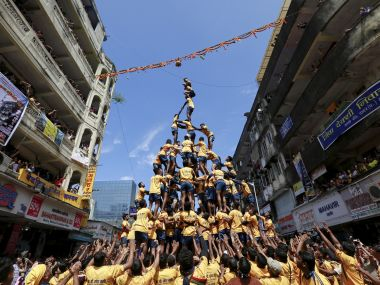 File image of Janmashtami celebrations. Reuters