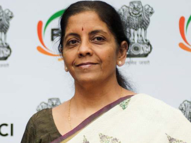 Commerce and industry Minister Nirmala Sitharaman. Naresh Sharma/Firstpost