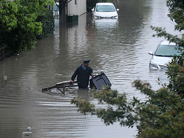 Floods in China. Reuters
