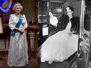 Then and Now: Queen Elizabeth II. Getty Images