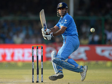 File picture of MS Dhoni. AFP